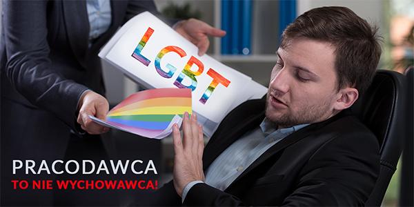 Sprzeciw wobec propagandy LGBT w miejscu pracy przyczyną zwolnienia pracownika.