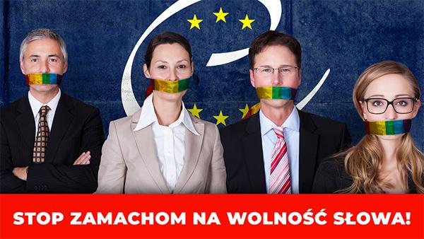 Stop zamachom na wolność słowa!